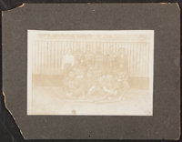 Jenkins & Sons African-American Baseball Team Cabinet Photograph