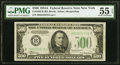 Small Size:Federal Reserve Notes, Fr. 2202-B $500 1934A Federal Reserve Note. PMG About Uncirculated 55 EPQ.. ...