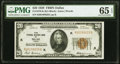 Small Size:Federal Reserve Bank Notes, Fr. 1870-K $20 1929 Federal Reserve Bank Note. PMG Gem Uncirculated 65 EPQ.. ...