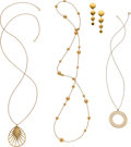 Estate Jewelry:Lots, Gold Jewelry, Paloma Picasso for Tiffany & Co.