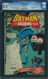 Batman #240 (DC, 1972) CGC VF 8.0 Off-white to white pages