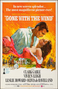 """Movie Posters:Academy Award Winners, Gone with the Wind (MGM, R-1968). Folded, Very Fine+. One Sheet (27"""" X 41""""). Howard Terpning Artwork. Academy Award Winners...."""