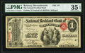 National Bank Notes:Massachusetts, Roxbury, MA - $1 Original Fr. 380a The National Rockland Bank of Roxbury Ch. # 615 PMG Choice Very Fine 35 EPQ.. ...