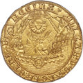 "Great Britain, Great Britain: Elizabeth I (1558-1603) gold ""Ship"" Ryal of 15 Shillings ND (1584-1586) MS64 PCGS,..."