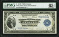 Fr. 726 $1 1918 Federal Reserve Bank Note PMG Gem Uncirculated 65 EPQ
