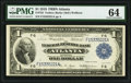 Fr. 725 $1 1918 Federal Reserve Bank Note PMG Choice Uncirculated 64