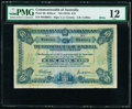 World Currency, Australia Commonwealth of Australia 10 Pounds ND (1918) Pick 6b R52a PMG Fine 12. . ...