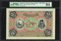 Iran Kingdom of Persia, Imperial Bank 50 Tomans ND (1890-1923) Pick 7s Specimen PMG Choice Uncirculated 64