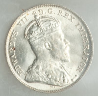 Canada: Edward VII 10 Cents 1902-H MS64 ICCS