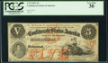 Confederate Notes:1861 Issues, T32 $5 1861 Cr. 246 PCGS Very Fine 30.. ...