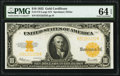 Large Size:Gold Certificates, Fr. 1173 $10 1922 Gold Certificate PMG Choice Uncirculated 64 EPQ.. ...
