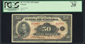 World Currency, Canada Bank of Canada $50 1935 Pick 50 BC-13 PCGS Very Fine 20.. ...