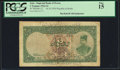 World Currency, Iran Kingdom of Persia, Imperial Bank 2 Tomans 14.10.1924 Pick 12 Resht PCGS Fine 15.. ...