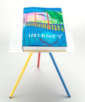 Collectible, David Hockney (b. 1937). A Bigger Book Sumo, Collector's Edition, 2016. Hardcover book with adjustable book stand. 27-1/...
