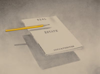 Ed Ruscha (b. 1937) Real Estate Opportunities, from the Book Covers series, 1970 Lithogra
