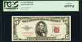 Small Size:Legal Tender Notes, Fr. 1534 $5 1953B Legal Tender Note. PCGS Gem New 65PPQ.. ...