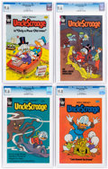 Modern Age (1980-Present):Cartoon Character, Uncle Scrooge CGC-Graded Group of 6 (Whitman, 1982) CGC NM+ 9.6.... (Total: 6 Comic Books)