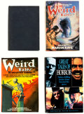 Books:Hardcover, Weird Tales/Horror Books Group of 5 (Various, 1944-93).... (Total: 5 Items)