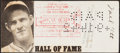 Baseball Collectibles:Others, 1942 Mel Ott Signed Check. Securing checks is a g...