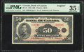 World Currency, Canada Bank of Canada $50 1935 Pick 50 BC-13 PMG Choice Very Fine 35 EPQ.. ...