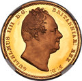 Great Britain, Great Britain: William IV gold Proof 2 Pounds 1831 PR65+★ Ultra Cameo NGC,...