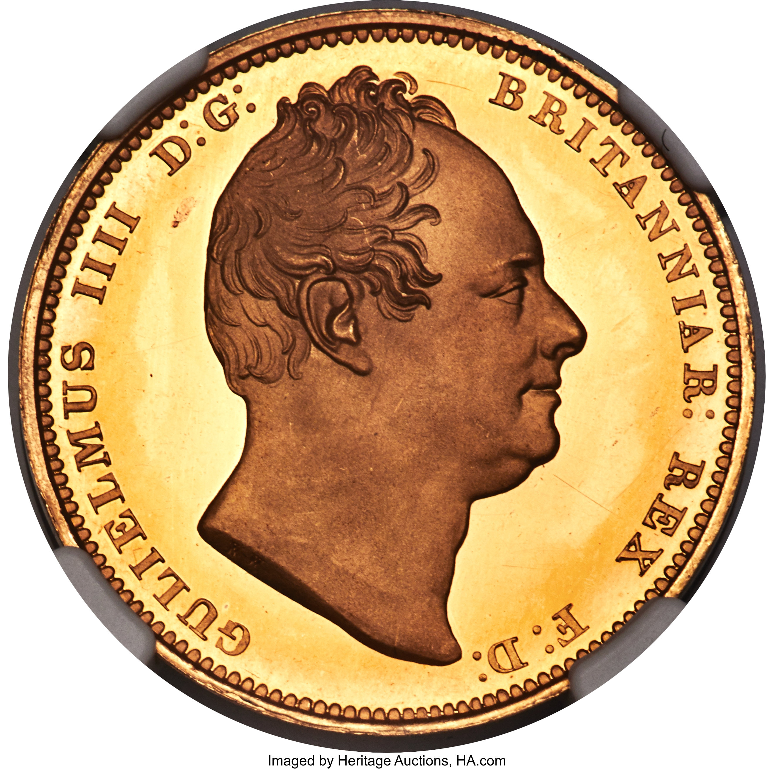 Great Britain William Iv Gold Proof 2 Pounds 1831 Pr65 Ultra Lot 31089 Heritage Auctions