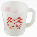 Baseball Collectibles:Others, Mickey Mantle Bowling Center Coffee Cup....