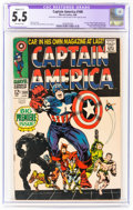 Silver Age (1956-1969):Superhero, Captain America #100 (Marvel, 1968) CGC Apparent FN- 5.5 Slight (C-1) Off-white pages....