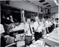 Explorers:Space Exploration, Apollo 13: NASA Mission Control Photo Signed by Gene Kranz, Chris Kraft, Gerry Griffin, and Glynn Lunney. ...