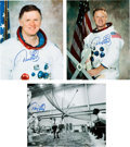 Explorers:Space Exploration, Don Lind Signed Photos (Three). A member of NASA's...