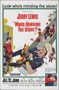 "Movie Posters:Comedy, Who's Minding the Store? & Other Lot (Paramount, 1963). Folded, Very Fine-. One Sheets (2) (27"" X 41"") & Lobby Card Set of 8... (Total: 10 Items)"