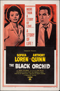 """Movie Posters:Romance, The Black Orchid & Other Lot (Paramount, 1958). Folded, Overall: Fine/Very Fine. One Sheets (2) (27"""" X 41""""). Romance.. ... (Total: 2 Items)"""