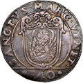 Italy: Venice. Giovanni Corner I Scudo ND (1625-1627)-AF XF45 NGC