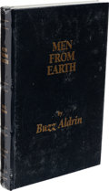 Explorers:Space Exploration, Buzz Aldrin Signed Limited Edition Still Sealed Book (#1487/1500): Men From Earth. ....