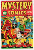 Golden Age (1938-1955):Superhero, Mystery Comics #3 (Wise Publications, 1944) Condition: FN....