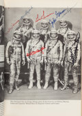 Explorers:Space Exploration, We Seven Book by The Astronauts Themselves Signed by the Mercury Seven, Apollo 1 Crew, Apollo 11 Crew, and Numerous Ot...
