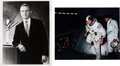 Explorers:Space Exploration, Frank Borman Signed Photos (Two). ... (Total: 2 Items)