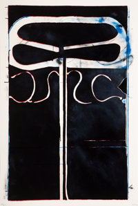 Richard Diebenkorn (1922-1993) Untitled (Club/Spade Group '81-82), from Eight by Eight to Celebrate