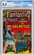 Silver Age (1956-1969):Superhero, Fantastic Four #48 (Marvel, 1966) CGC FN+ 6.5 Off-white to white pages....