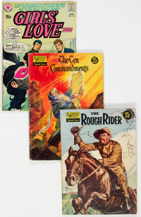 Golden-Bronze Age Comics Group of 60 (Various Publishers, 1950s-70s) Condition: Average GD+.... (Total: 60 Comic Books)