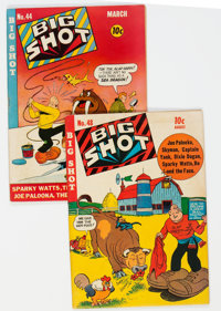 Big Shot Comics #44 and 48 Group (Columbia, 1944) Condition: Average FN+.... (Total: 2 )