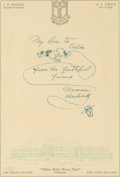 Works on Paper, Norman Rockwell (American, 1894-1978). Dog Sketch. Ink on paper. 10 x 6-3/4 inches (25.4 x 17.1 cm) (sheet). Signed lowe...