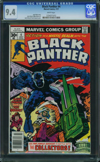 Black Panther #4 (Marvel, 1977) CGC NM 9.4 White pages