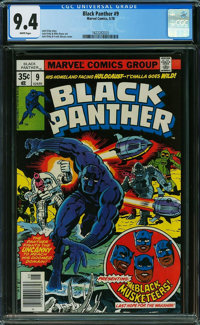 Black Panther #9 (Marvel, 1978) CGC NM 9.4 White pages