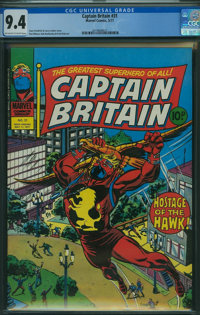 Captain Britain #31 (Marvel, 1977) CGC NM 9.4 Off-white to white pages