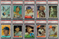 Baseball Cards:Sets, 1996 Topps Finest Mickey Mantle (Refractors-With Coating) Complete Set (19) - #6 on The PSA Set Registry. ...
