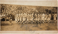 1923-24 Detroit Tigers Opening Day Original Photograph from the Ty Cobb Collection