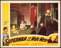 """Superman and the Mole Men (Lippert, 1951). Very Fine-. Lobby Card (11"""" X 14""""). Action"""