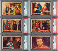 Non-Sport Cards:Sets, 1957 Topps Robin Hood High-End Complete Set (60). ...