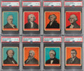 Non-Sport Cards:Lots, 1932 U.S. Caramel Presidents Multicolor Collection (39). ...